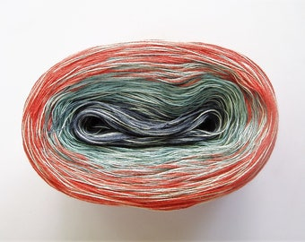 CAROLINA MEDLEY IV  Color Changing Cotton yarn  865 yards/180 gr  Fingering Weight
