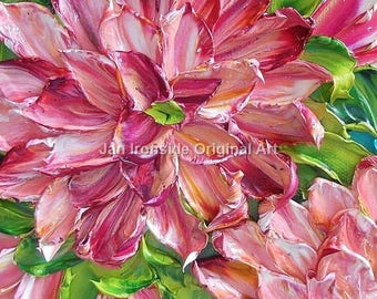 Impasto painting Original Oil Painting, Home and Living, Home Decor, Jan Ironside, Fine art, Floral, canvas art, thick paint