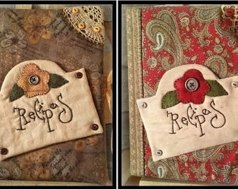 Recipes Journal - Pattern