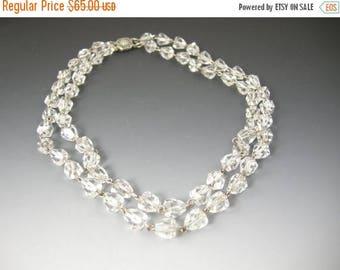 45% off Sale Vintage Crystal Necklace
