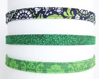 Headband for women   Green Adjustable Headbands