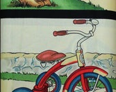 Fabric by Michael Miller:  Retro Transportation