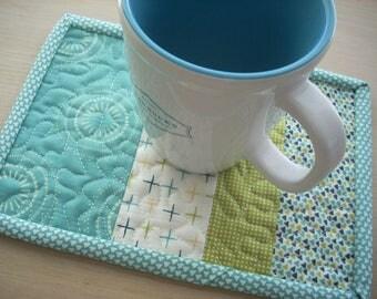 Sunday dinner again mug rug - FREE SHIPPING