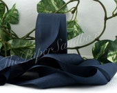 Navy Blue Silk Ribbon, Pantone Navy Blazer
