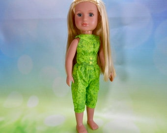 14.5 inch doll clothes, 14 inch doll clothes, Fits Dolls like Wellie Wishers, 14 Inch Doll Outfit, 14 Inch Doll Jumpsuit, 03-2855
