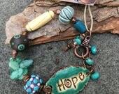 Reserved Listing for Stephanie, Do Not Purchase, Hope Bracelet