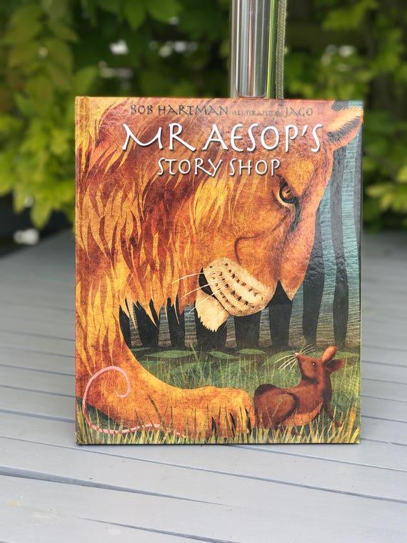 Signed book - Mr Aesop's Story Shop - Bob Hartman