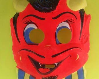Vintage Devil Mask