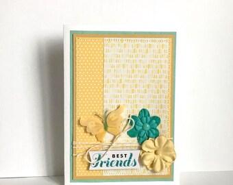 Friendship Handmade Card