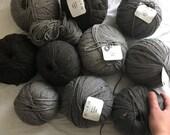 Cormo Undyed 10Ply Aran Weight Yarn 100g TONOFWOOL Tasmania 100% Australian