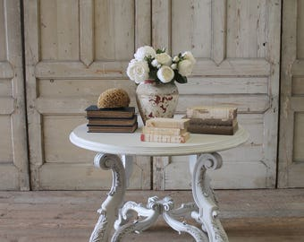 21st century, carved and painted centre table