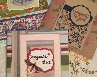 Greeting cards : Congratulations