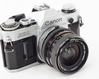 Canon AE-1 SLR 35mm Film Camera