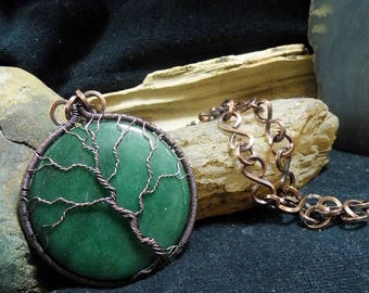 RESERVED for Para Wire wrapped Pendant Custom Made to Order