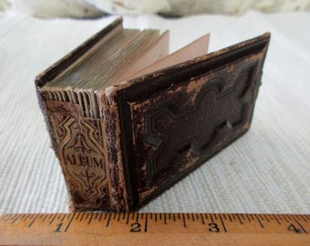 brown leather album etsy