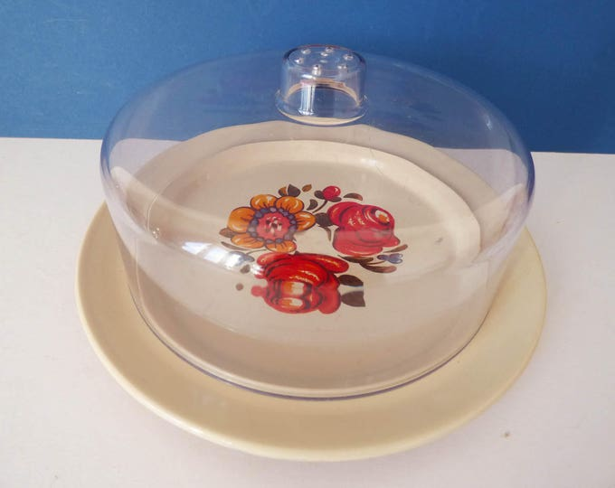 Cheese Dome Board Emsa Vintage retro