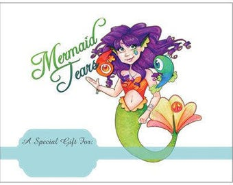 50 Dollar Gift Certificate for Mermaid Tears - Physical Gift Card to be Mailed