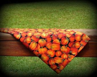 Pumpkin Fabric, Autumn Pumpkins, Half Yard, Black and Orange, Halloween Fabric, Orange Pumpkin Fabric, Fall Pumpkins, Thanksgiving Fabric