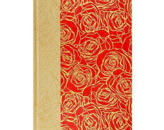 Garden Planting Notebook Red Rose
