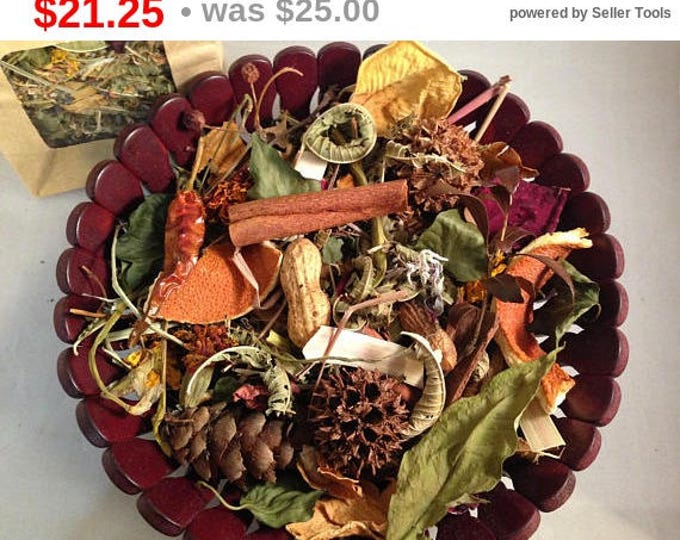 Natural Potpourri - Decorative Bowl - Home Fragrance - Holiday Scents - Winter - Spring - Essential Oil Scents - EcoHome - Home Gifts