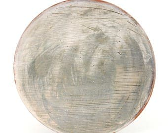 Lunch Plate with Smokey Surface