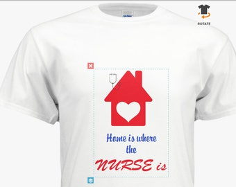 Home Health Nurse T shirt