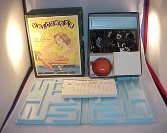 1962 Phlounder Word Game 3M Bookshelf Game Complete