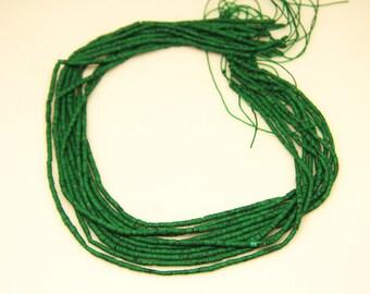 1strand(0031) - natural howlite plain post