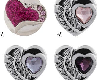 Snap charms, Valentines day jewelry, Valentine heart snap will fit all 18-20 mm snap jewelry including Ginger Snaps jewelry.