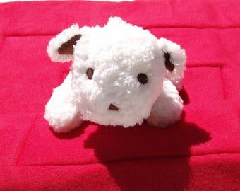 White soft dog