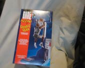 Vintage 1993 Shaq Attaq Rookie Of The Year Shaquille O'Neal Basketball Action Figure by Kenner In Sealed Box, collectable,
