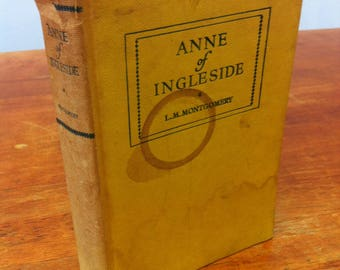 Anne of Ingleside by L.M.Montgomery - VINTAGE BOOK