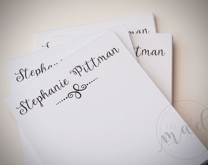 Lovely Personalized Notepads