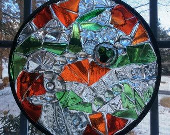 Glass Art Suncatcher