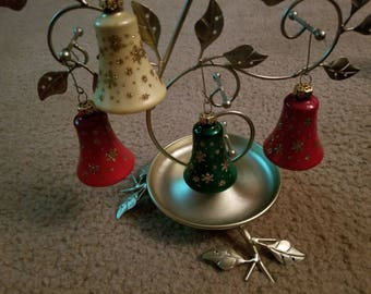 Set of 4 Vintage Christmas Ornaments