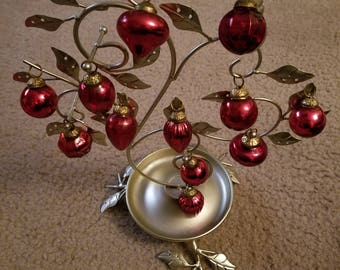 Set of 12 Vintage Christmas Ornaments