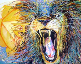 Roar of the Lion - archival print