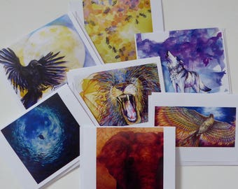 Animal Totem Notecards - 7 pack
