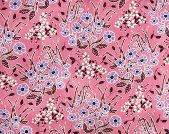 SALE : Homestead Wildflower pink Juliana Horner Fabric Traditions  FQ or more
