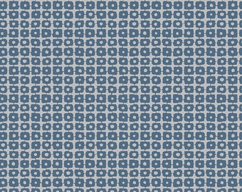 Art Gallery Pandalicious - Panda Patches Blue Cotton Fabric (Quilting/Dressmaking)