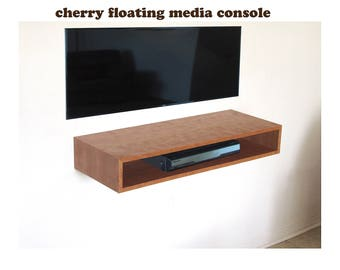 CHERRY Floating media console, 36.5 width