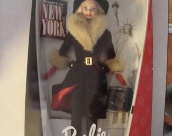 Winter in New York Barbie