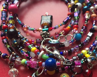 Multi-layer wrap bracelet/necklace