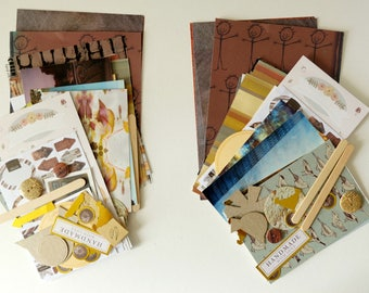 Wonderfully Weathered  CRAFTY BITS - crafting kit with papers and embellishments