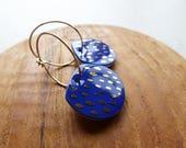 Gold Dash Hoop Earrings...