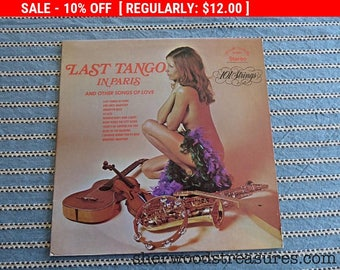 August Vinyl Blow Out 10% OFF Already Low Prices Nude Cover Vinyl LP Last Tango In Paris 1973 Songs of Love Sexy