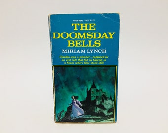 Vintage Gothic Romance Book The Doomsday Bells by Miriam Lynch 1976 Paperback
