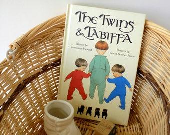 The Twins & Tabiffa. Constance Heward. Susan Beatrice Pearse. 1993 Children's Book. Kitten Story. Preschool Child. Vintage Nursery Decor.