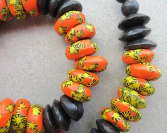 Ashanti & Fused Glass Beads