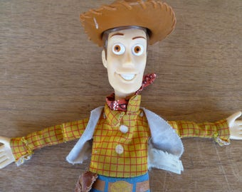 "Toy Story ""Woody"" Plush Doll Burger King"